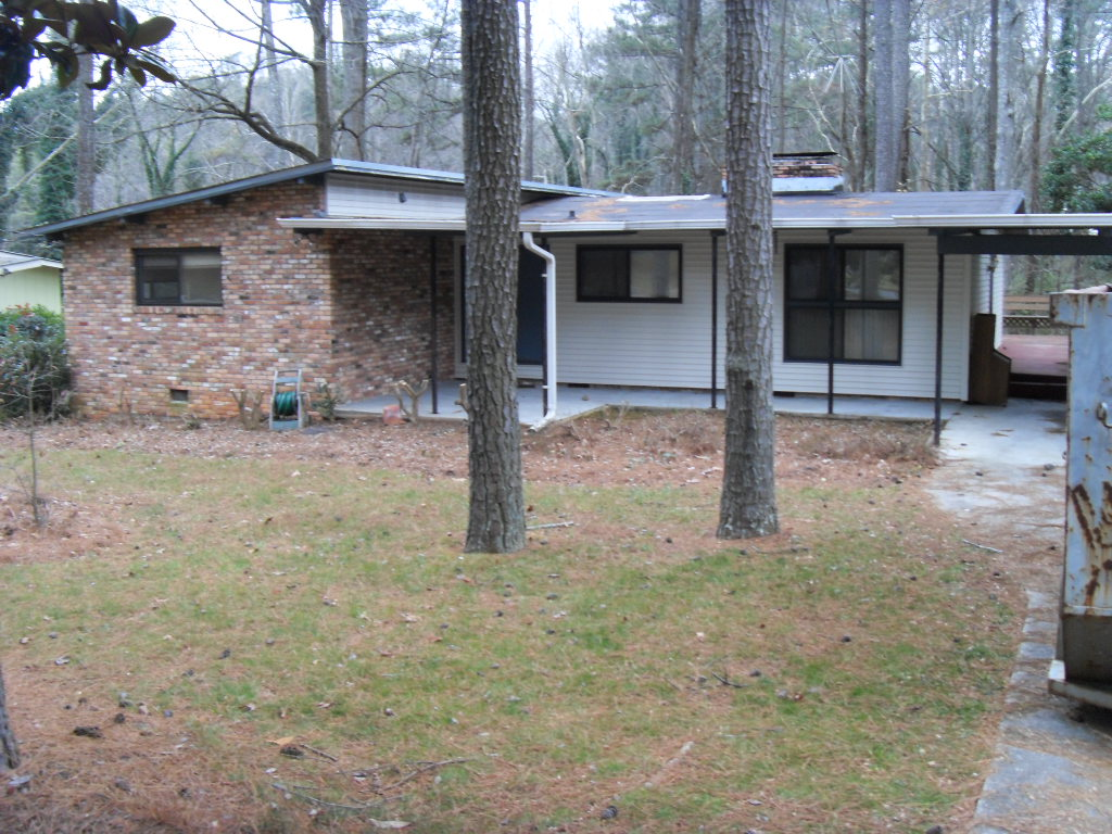 Before after a dramatic mid century modern renovation Modern houses in atlanta