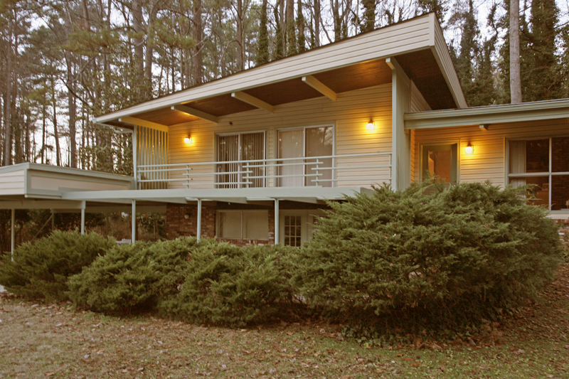 Mid-Century Modern Homes Atlanta