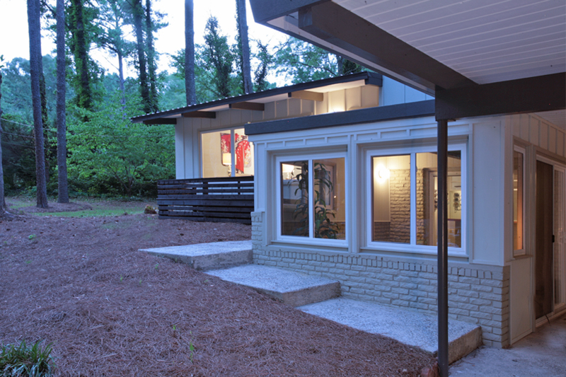 Mid century modern atlanta home for sale Contemporary homes atlanta