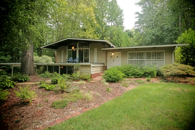 Mid-Century Modern Atlanta Homes