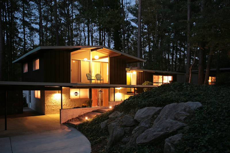 Mid Century Modern Atlanta Home For Sale