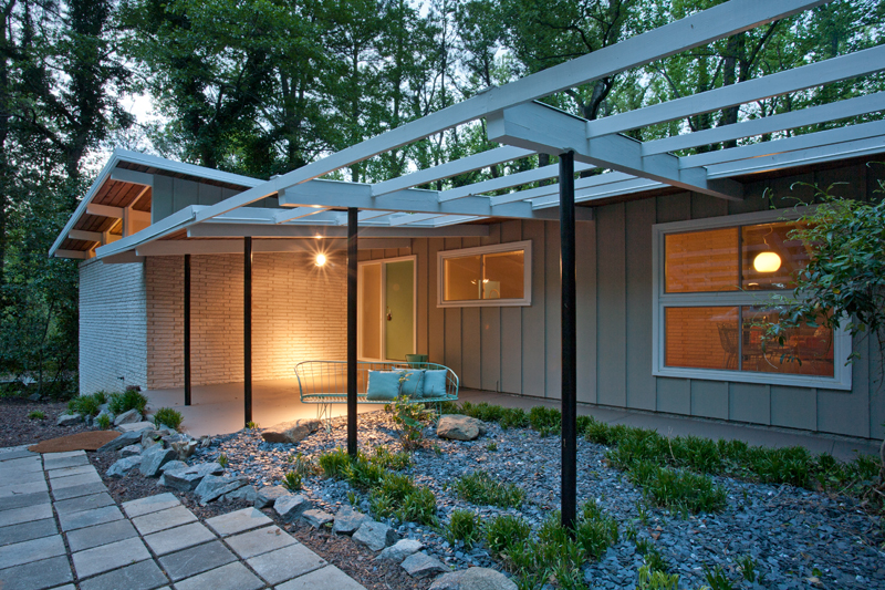 perfect mid century modern home for you just listed