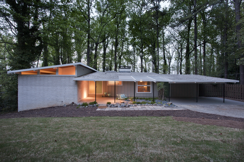 Perfect mid century modern home for you just listed Mid century modern homes for sale houston