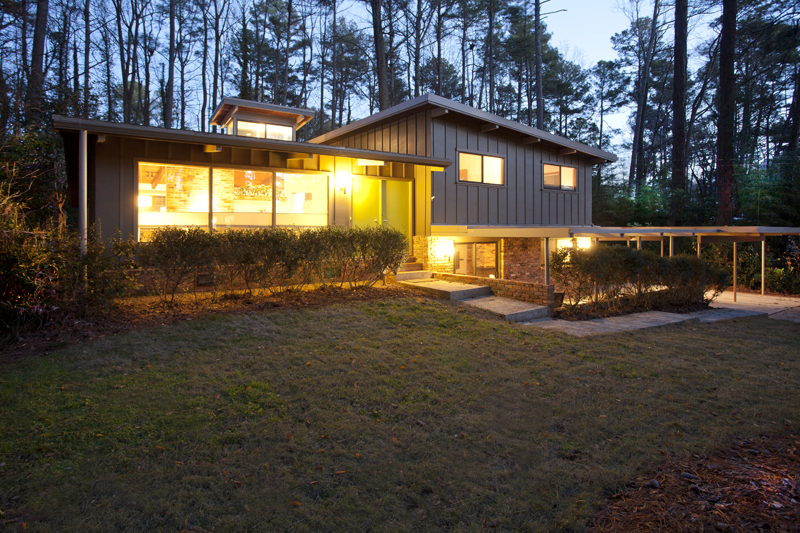 Mid-Century Modern Homes Atlanta for sale