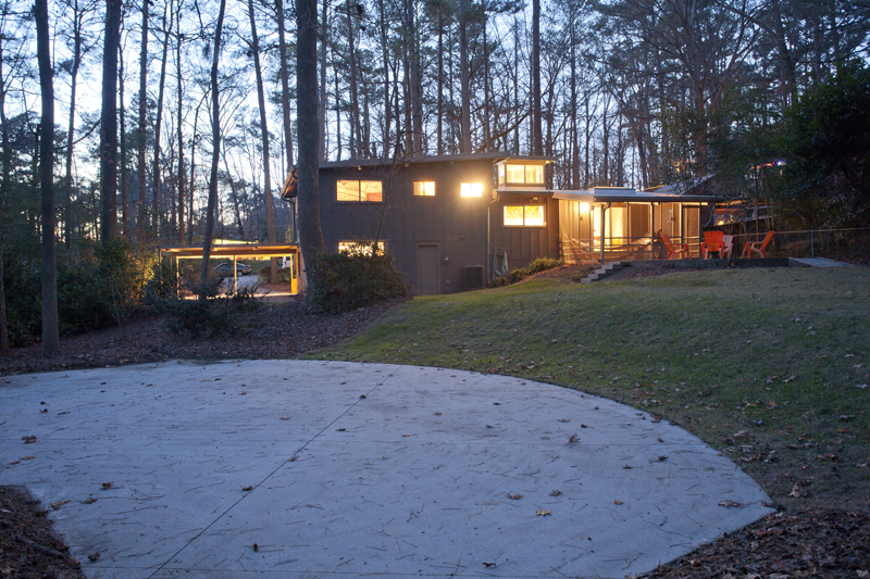atlanta contemporary homes
