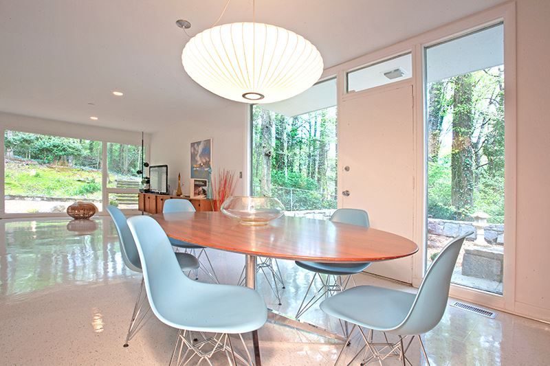 Atlanta GA mid-century modern homes for sale