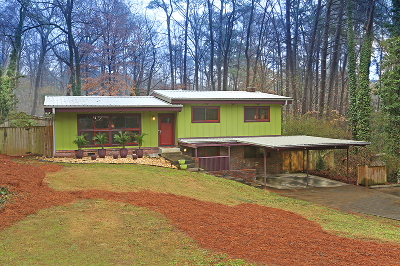 Mid-Century Modern Home For Sale Atlanta GA