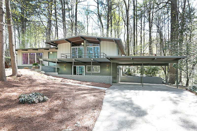 Atlanta Modern Homes for sale MCM homes
