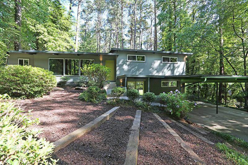 Atlanta Mid-Century Modern Home