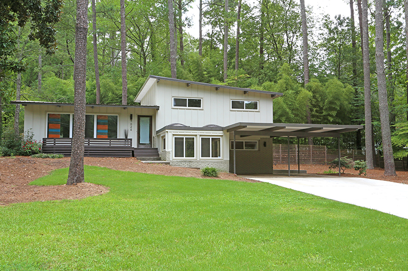 Sexy Mid Century Modern Home For Sale