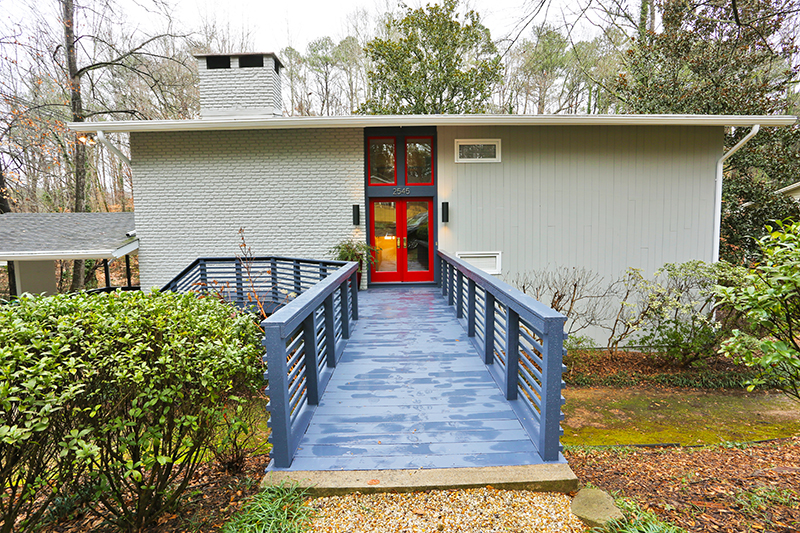 Atlanta Mid-Century Modern Homes