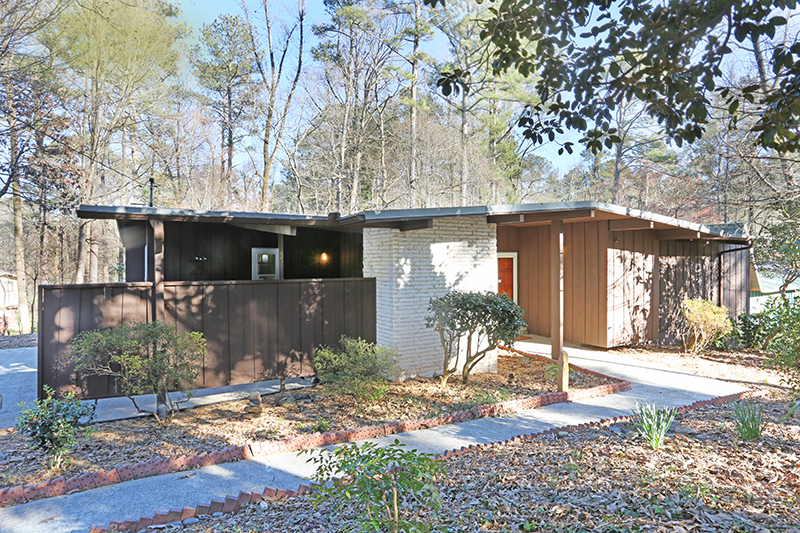 Mid-Century Modern Home Atlanta GA Atomic Ranch Northcrest Modern