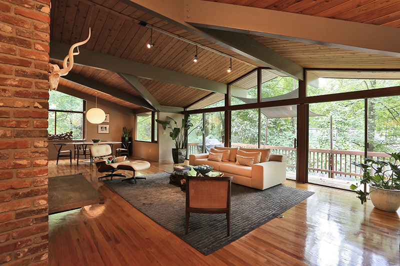 Atlanta mid century modern homes for sale archives page for Mid century modern home builders