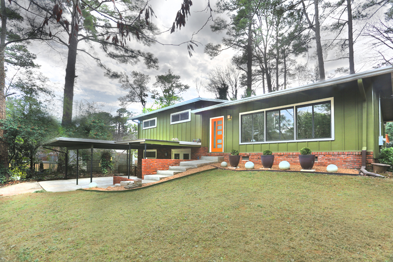 atlanta mid century modern homes for sale atlanta mcm mid century modern
