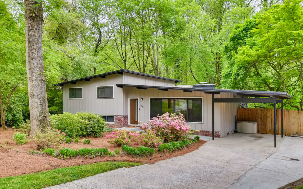 JUST LISTED- Atlanta Midcentury Modern Homes for Sale!